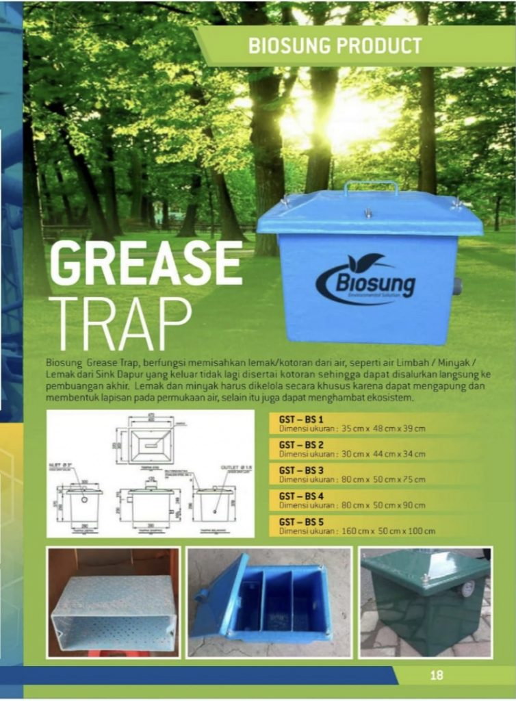 Brosur Grease Trap Biosung