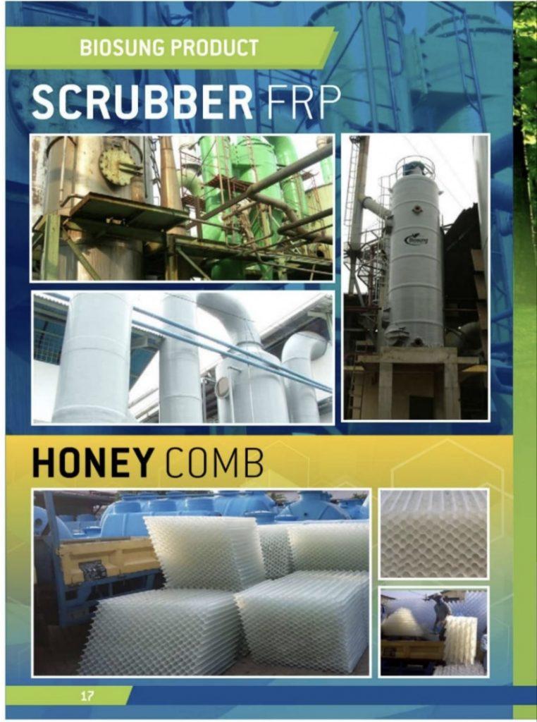 Brosur Scrubber FRP & Honey comb
