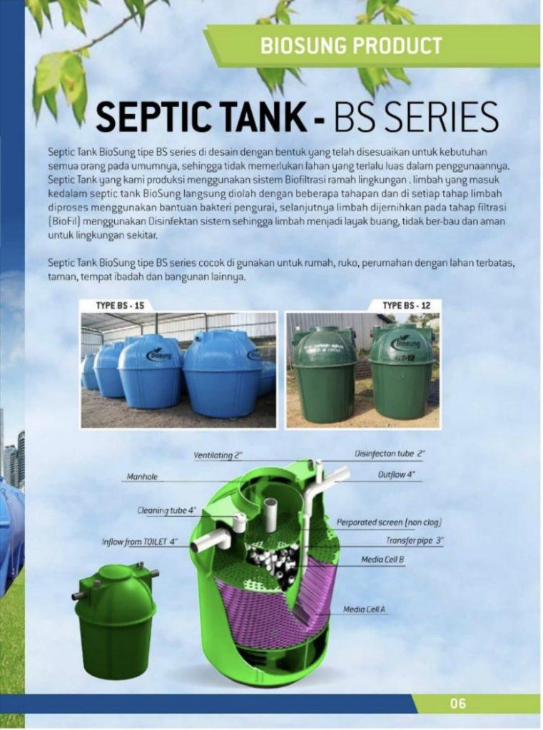 Brosur Septic Tank BS Series