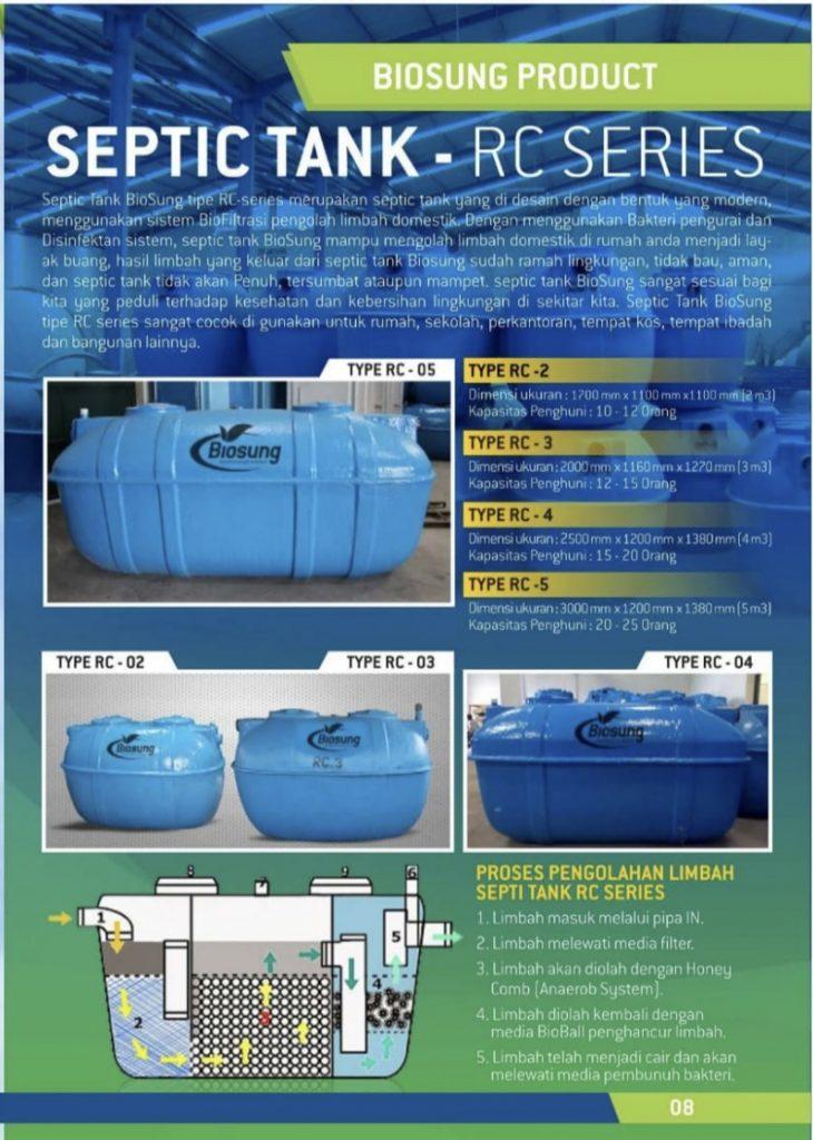 Brosur Septic Tank-RC Biosung