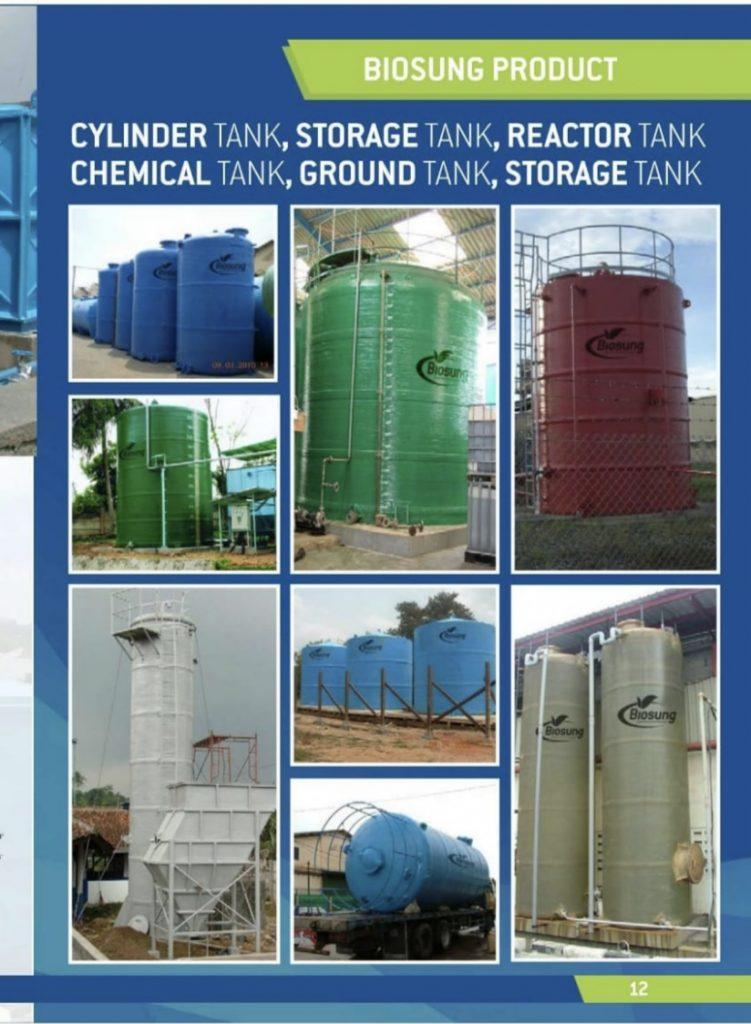 Brosur Storage tank, Chemical Tank